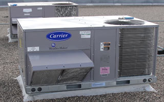 Commercial HVAC unit
